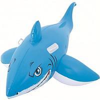 Надувная Акула баллон для ребенка 157x71см, Bestway пляжный
