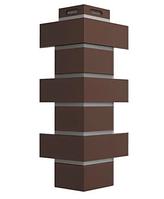 Угол Наружный FLEMISH Дёке Коричневый  443х174х112 мм