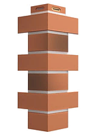 Угол Наружный FLEMISH Дёке Красный жженый  443х174х112 мм