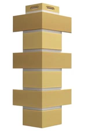 Угол Наружный FLEMISH Дёке Жёлтый жженый 443х174х112 мм
