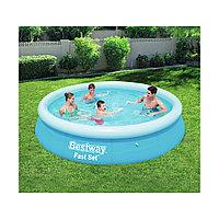 Семейный надувной бассейн BESTWAY Fast Set 244 х 66 см