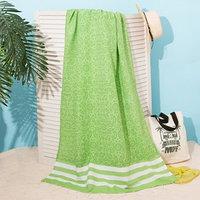 Полотенце для ванны Пештемаль Персия 90х170см, 150г/м,80 хл, 20 п/э, зеленый