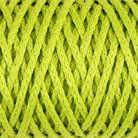 Шнур для вязания 'Классик' без сердечника 100 полиэфир ширина 4мм 100м (салатовый)