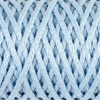 Шнур для вязания 'Классик' без сердечника 100 полиэфир ширина 4мм 100м (светло-голубой)