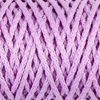 Шнур для вязания 'Классик' без сердечника 100 полиэфир ширина 4мм 100м (св.сиреневый)
