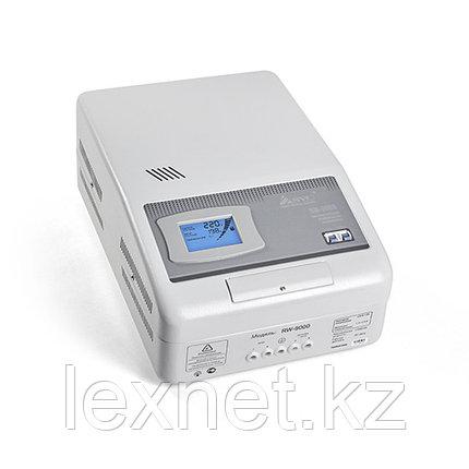 Стабилизатор (AVR), SVC, RW-9000, Мощность 9000ВА/7000Вт, LCD-дисплей, Диапазон работы AVR: 110-275В, Клеммная, фото 2