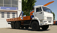 Промысловый самопогрузчик на шасси КАМАЗ 43118