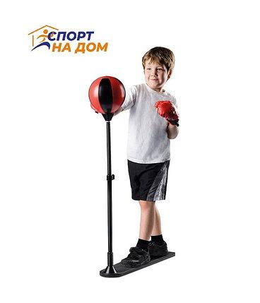 Детский боксерский набор с перчатками, фото 2