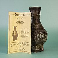 Музейная копия вазочки династии Шан (1600-1500гг до н.э.) Современная работа