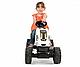 Smoby Трактор педальный с прицепом XL,  Коровка, фото 3