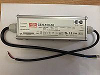 Трансформатор / драйвер / блок питания Mean Well CEN-100-36 (для уличных светильников и прожекторов 100 ватт), фото 1