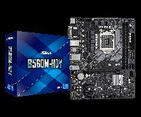 Intel 1200 B560 ASRock 2DDR4 4SATA 2M.2 HDMI DVI-D VGA microATX (B560M-HDV(Gen 10,11)), фото 1
