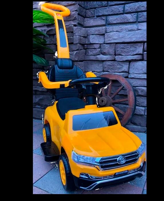 Толокар Toyota Land Cruiser 200 желтый