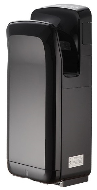 Высокоскоростная сушилка для рук Breez JET BHD-1650 BL (Чёрная)