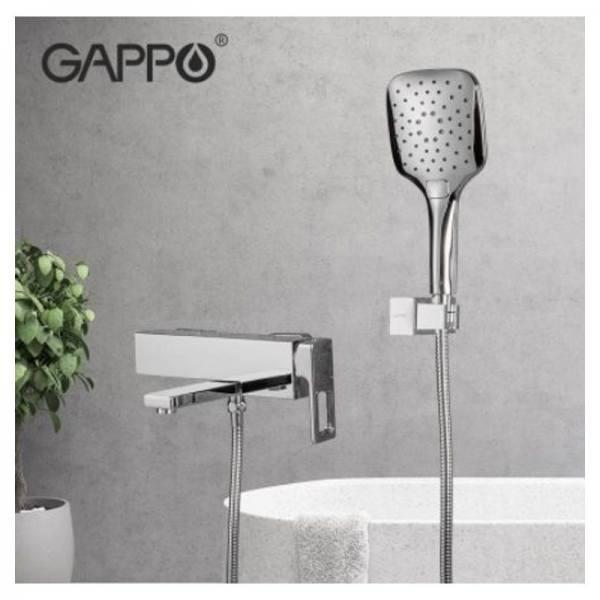 Смеситель для ванны GAPPO g3018 хром