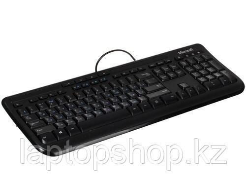 Клавиатура Microsoft Wired Kbrd 600 USB Port Russian Hdwr Black