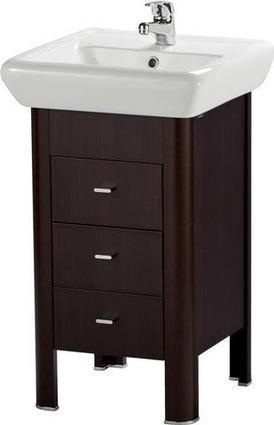 Шкафчик Cersanit IRIDA 35,2*72,4*42 под умывальник IRIDA 60, венге(P-SU-IRY-I60-Ve)