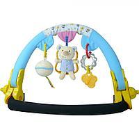 Дуга на коляску Biba Toys Малышки Мишки голубой/розовый