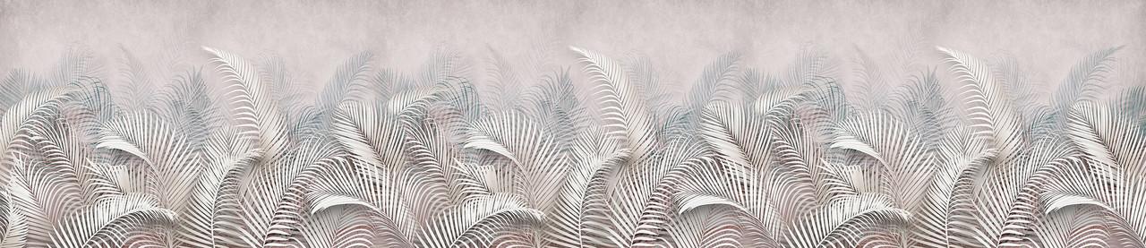 Фартук для кухни Пальмовые листья 2800*610*6