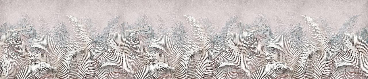 Фартук для кухни Пальмовые листья 2800*610*6, фото 2