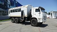 Вахтовый автобус на шасси КАМАЗ 43118 вместимость 28 пассажиров