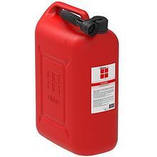 Канистра пластиковая 25л ГСМ Oktan, классик, красный