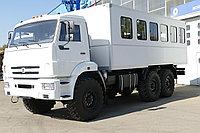 Вахтовый автобус на шасси КАМАЗ 43118 вместимостью 32 пассажира