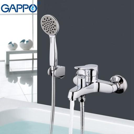 Смеситель для ванны GAPPO g3236 хром