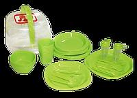 Набор пластиковой посуды (48 предметов)