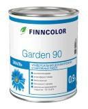 Эмаль алкидная Finncolor Garden 30 полуматовая 2.7л база  С