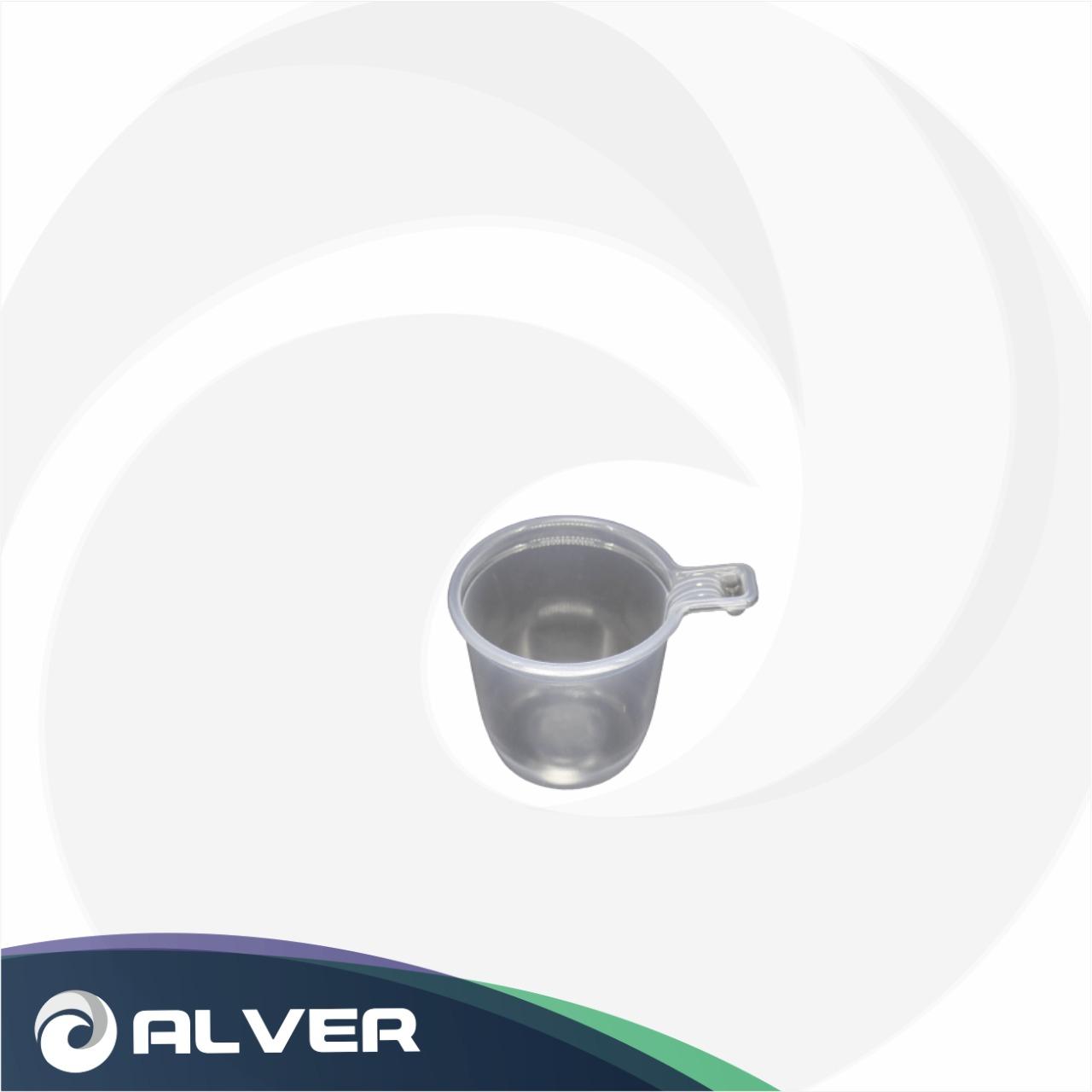 Чашка кофейная 200мл 4 тип ПРОЗРАЧНАЯ