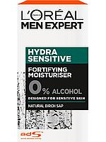 L'Oreal Paris / Men Expert Увлажняющий уход, для чувствительной кожи, 50 мл, с березовым соком