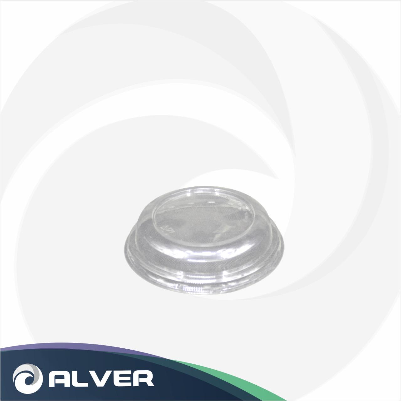 Крышка купольная для контейнера бумажного с круглым дном 750мл (Паперскоп)