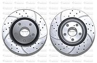 Тормозные диски Gerat DSK-F041W (ПЕРЕДНИЕ) Toyota Camry 30,35,40,45,50,55 , Rav4 2005, Lexus Es250, Es350-,