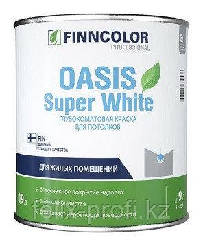 Finncolor Краска для потолка супербелая Oasis Super White 2,7 л