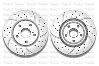 Тормозные диски Gerat DSK-F041P (ПЕРЕДНИЕ) Toyota Camry 30,35,40,45,50,55 , Rav4 2005, Lexus Es250, Es350-,