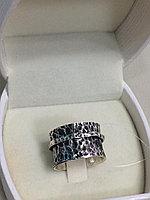 "Кольцо ""Антистресс"" / серебро - 17 размер"