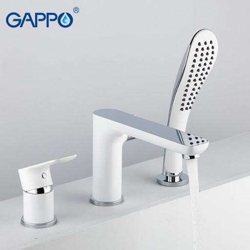 Смеситель для ванны GAPPO g1148 на борт