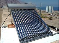 Солнечный водонагреватель HP58-18, бак 150 литров под давлением, 18 тепловых трубок