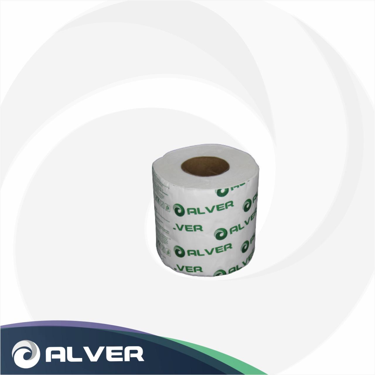 Туалетная бумага ALVER Comfort 17м 2слоя в обертке