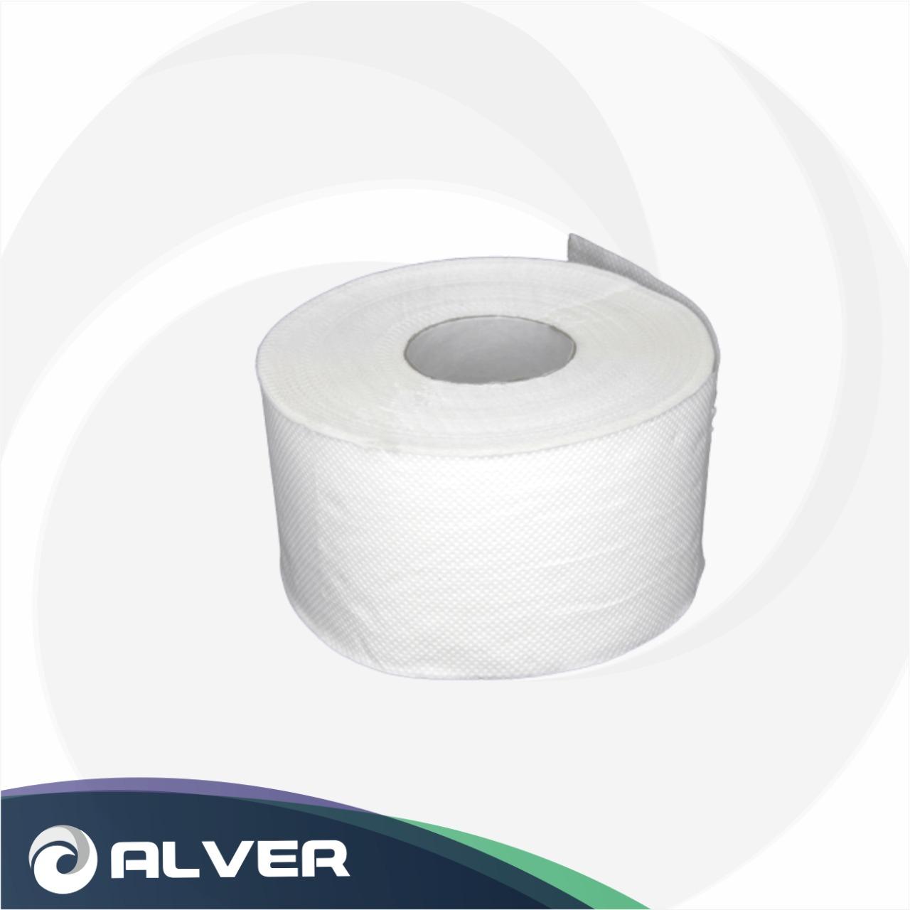 Туалетная бумага ALVER Jumbo Comfort 2слоя с тиснением 100 метров