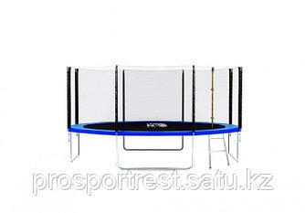 Батут ART.FiT 12 футов (366см) с защитной сеткой и лестницей, 4 ноги