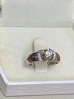 Кольцо обручальное национальное / серебро