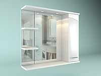 Шкаф навесной Water World, Модерн 700, 700*700*175 ( Белый глянец)(2000061231953)