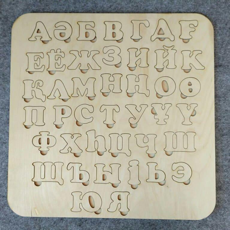 Казахский алфавит / Развивающие игрушки