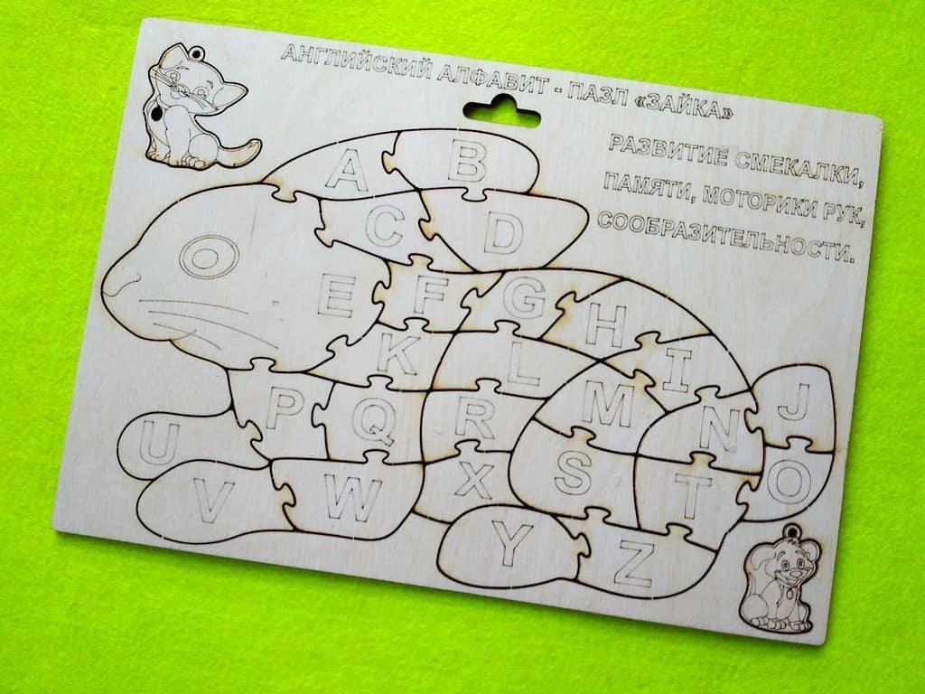 Английский Алфавит Заяц / Развивающие игрушки