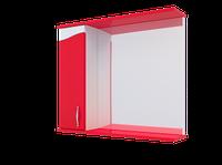 Шкаф навесной Water World, Стиль 600, 700х170х700 (Красный глянец)(4603745568567)