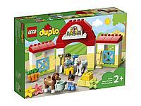 LEGO DUPLO Town Конюшня для лошади и пони