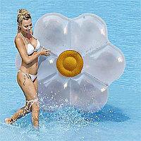 """Надувной круг плот для плавания """"Ромашка""""160*160см"""
