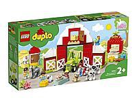 LEGO DUPLO Town Фермерский трактор сарай и животные